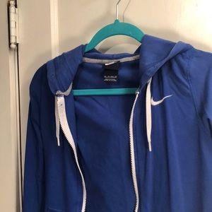Athletic zip up